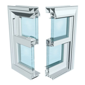 Vinyl Kraft Windows 5500 Series Double Hung