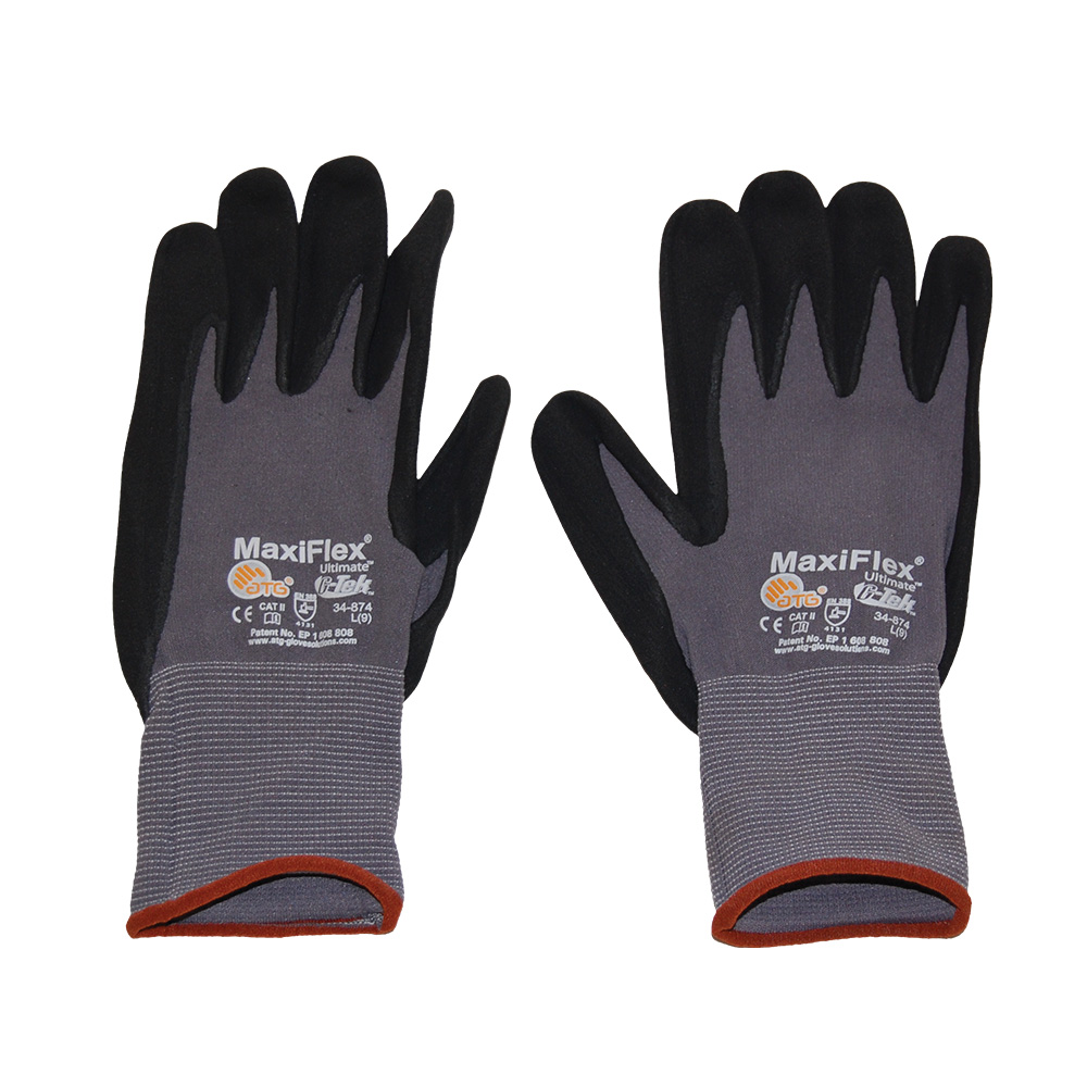 G Tek Maxiflex Lg Gloves Roofers Mart